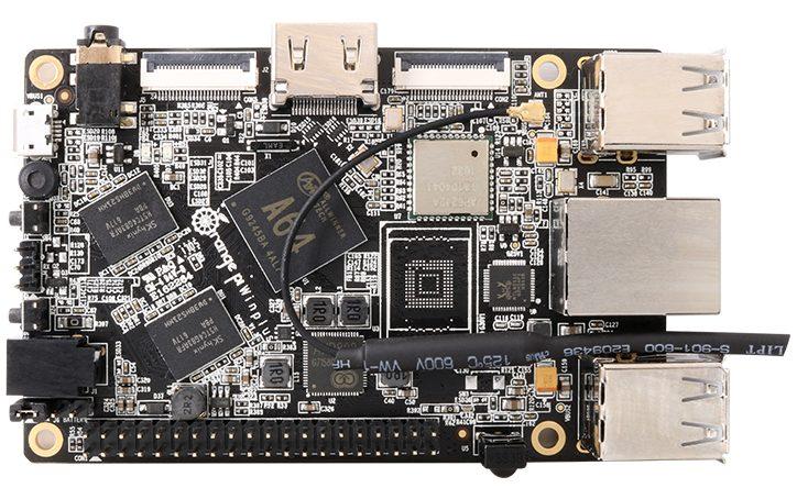 Orange Pi Win Plus - мини ПК с поддержкой ОС Windows 10 IoT и 2 Гб ОЗУ