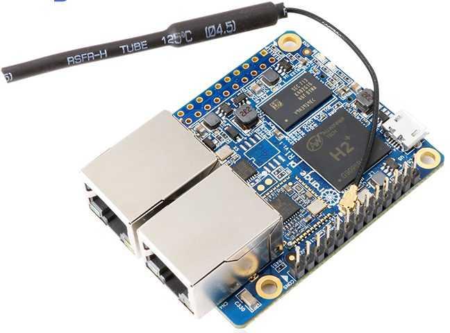 Orange Pi R1 - одноплатный компьютер оснащённый двумя ...