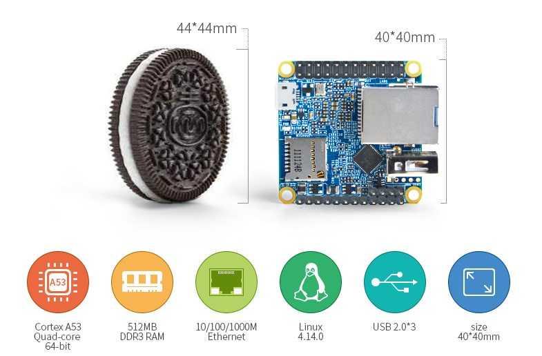 NanoPi NEO2 — маленький как печенька, но быстрее чем RaspberryPi