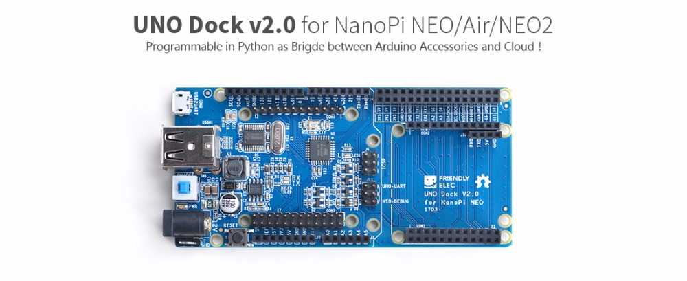 NanoPi-NEO - одноплатник размером 40 x 40 мм с SoC Allwinner H3