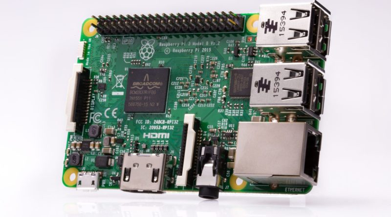 Raspberry Pi 3 Model B популярный одноплатник на базе SoC Broadcom BCM2837