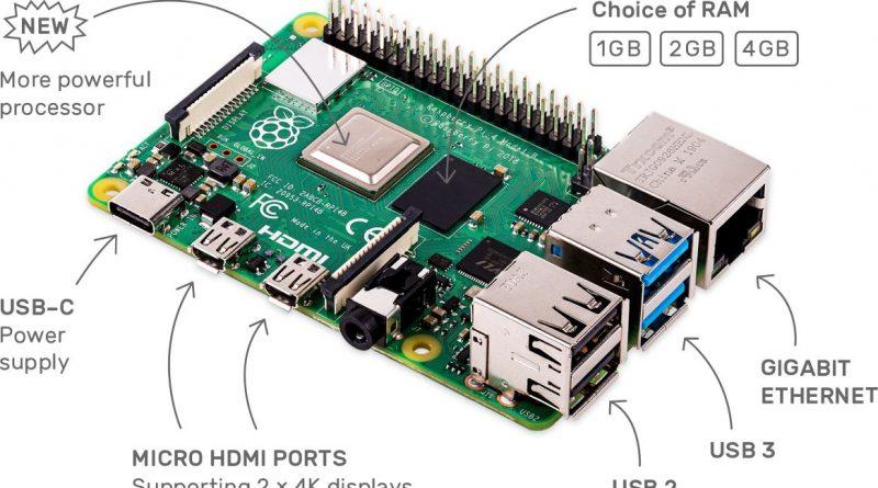 Raspberry Pi 4 Model B новый одноплатный компьютер в 2019
