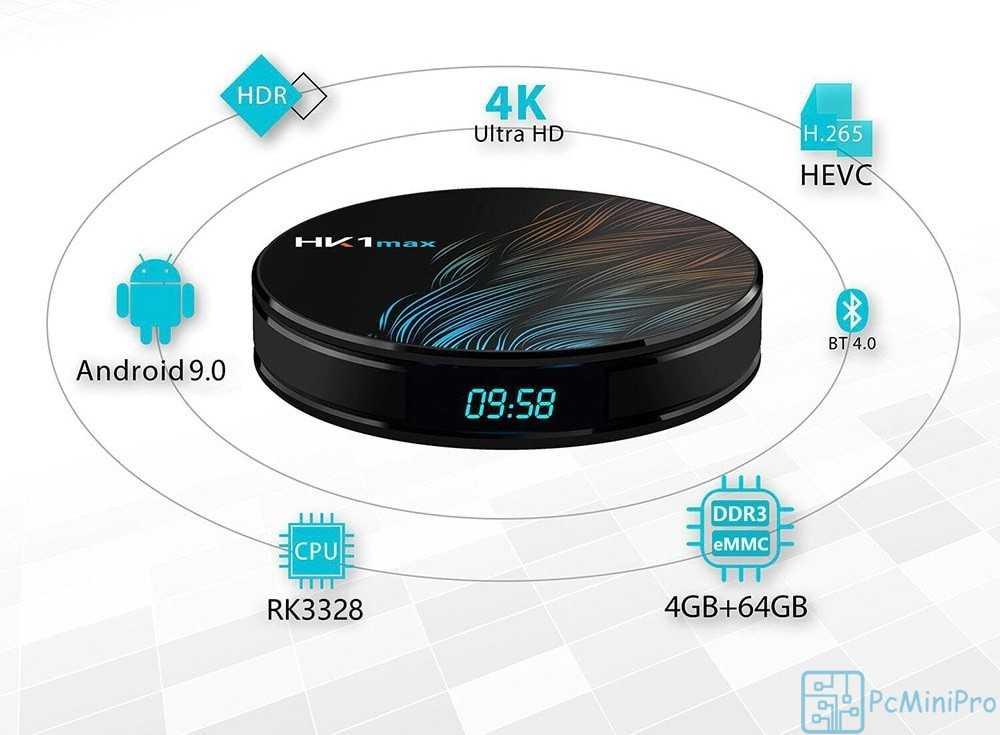 Обзор Vontar HK1 Max cмарт ТВ приставка, популярный медиа центр с Android 9.0