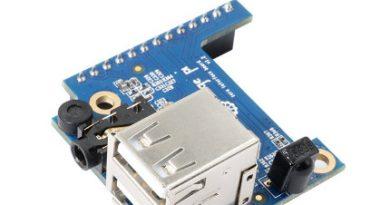 Плата расширения Orange Pi Zero — 2 USB+A/V выход+IR+MIC