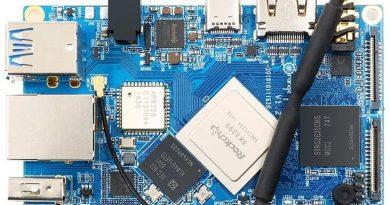 Orange Pi 4 — одноплатный ПК с 4Gb LPDDR4, 16 Gb еMMC и SoC RK3399